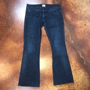 Hudson 30 bootcut dark wash jeans